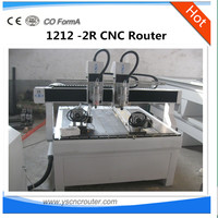 multi-use woodworking machine 2 spindles jinan cnc machine