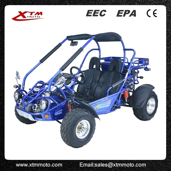 Automatic cvt 300cc 2 seat road legal dune buggy