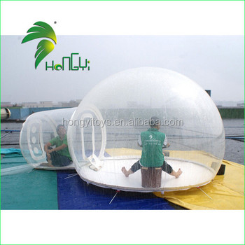Hot sale ! New design inflatable transparent bubble tent for sale.