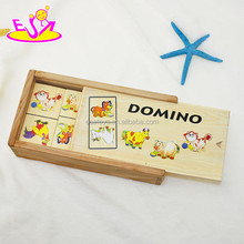 Double Six Professional Dominoes with Brass Spinner in Wooden Case WJ278168