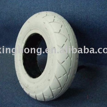 8'' Inch PU Foam Filled Tyre Wheelchair Solid Wheel