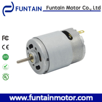 High Quality 12v 24v carbon brush dc motor RS-385