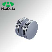 stainless steel glass sliding door clip handle,door knob for glass door