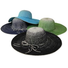 Wholesale Summer Blank Custom Straw Lady Hat Women Paper Straw Hat For Sale