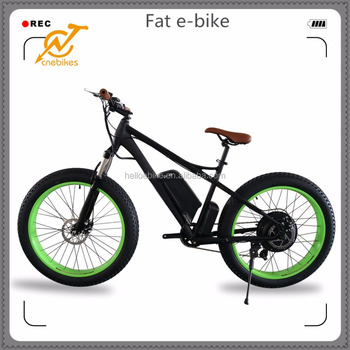750W electric fat bike/electric mountain bicycle/electric MTB for sale