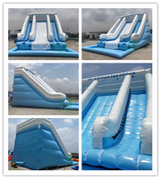 Best selling!!!! Inflatable water slide, giant cheap inflatable slides for sale