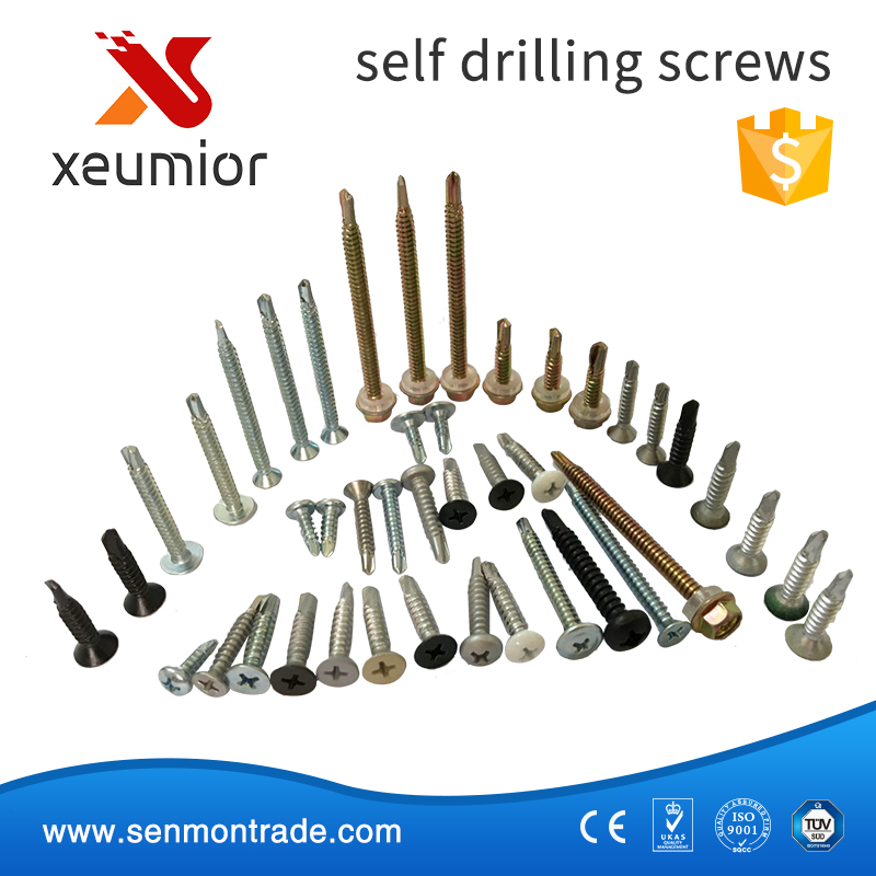Factory Price Flat Cross Recessed Self Drilling Screw Taiwan