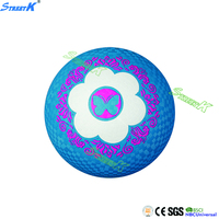 2016 Wholesale high quality custom inflatable kid rubber playground ball kids toy