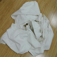 Industrial wiping used hotel bed sheets