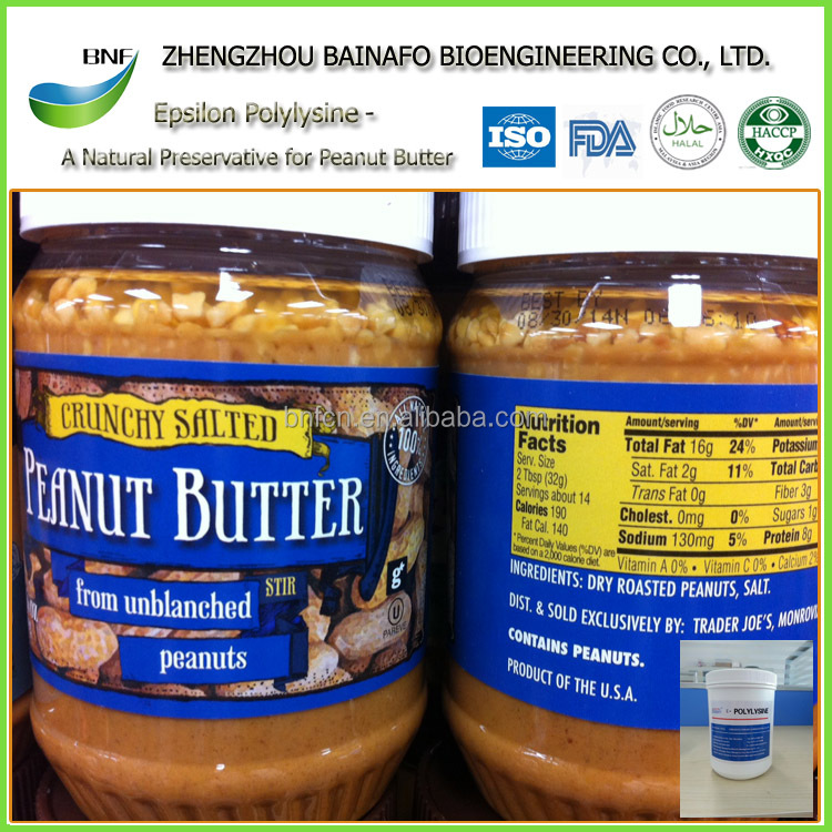 2017 FDA <strong>Natural</strong> Antimicrobial preservatives for peanut butter
