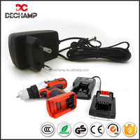 High efficiency EU type CE ROHS Proved 14.8V AC DC EU Charger Electric Tool Charger