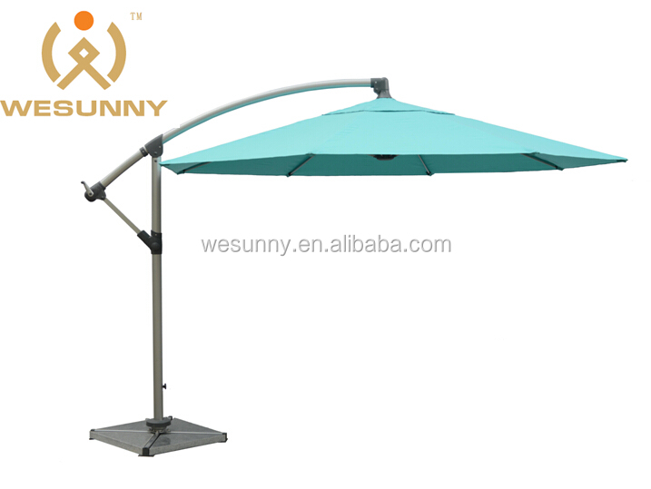 Deluxe outdoor big parasol/parasol sun umbrella