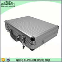 OEM long aluminum rifle box wooden gun case