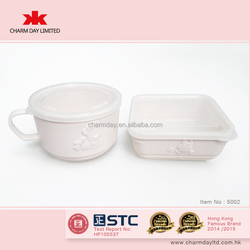 kindergarten kids children safety tableware set 5002
