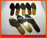 High quality neolite embossed rubber soling sheets for shoe from Atom Shoes Material Limited