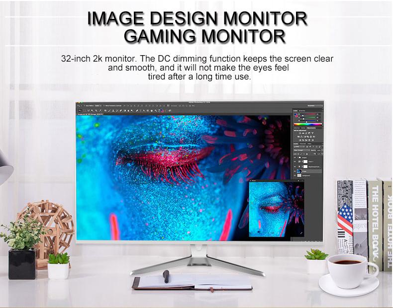 UHD 3840*2160 4k resolution 32 inch gaming monitor
