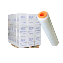 factory PE strech film Pallet wrapping stretch film for carton packaging