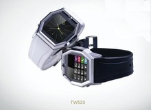 Quad Band 1.6 inch touch screen watch phone,support java, msn, mp4 .1.3m camera