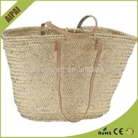 2015 best selling cute cheap much colours wholesale straw beach bags
