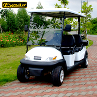 CE approved 6 seats golf cart electric,Trojan Battery