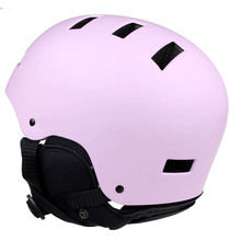 New pink custom painting skate helmet professional