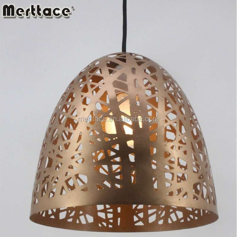 Modern metal lamp shades retro chandelier /led pendant light China supplier