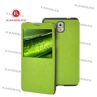 2015 fashion drab green PU leather phone case To protect the case for Samsung phone