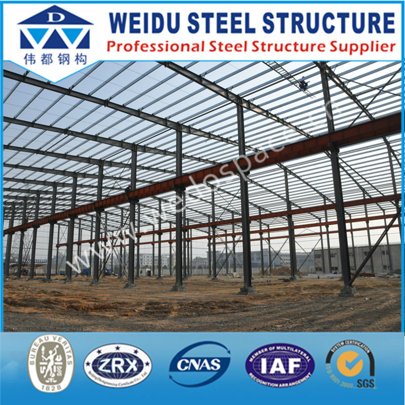 Pre engineering construction design steel structure warehouse