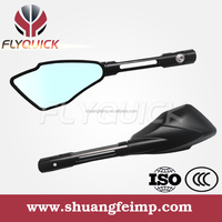 SF-079 Motorcycle Parts Road Mirror and universal CNC aluminium motorcycle mirrors with red black sliver gold orange