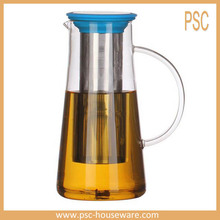 Stainless Steel Long Infuser Glass Cold Brewer Coffee Tea Maker 1300ml