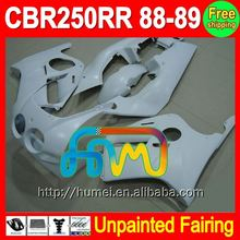 8Gifts Unpainted Full Fairing Kit For HONDA CBR250RR MC19 88-89 CBR 250RR CBR 250 RR CBR250 RR MC19 88 89 1988 1989 Fairings