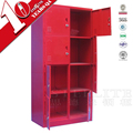 8 Door Locker Galvanized Steel Storage Cabinet Locker
