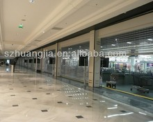 Commercial Crystal roller shutter door