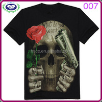 2015 new style funny male breathable 3D t-shirt goods in stock