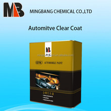 Clear coat auto paint for refinish paint