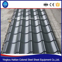 Corrugated Galvanized Zinc Sheets Antique Metal Roof Tiles