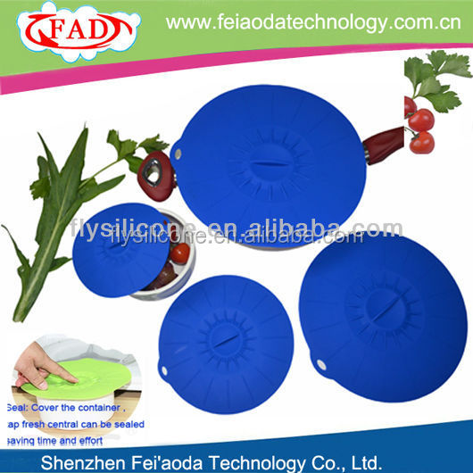 Practical Save-money Flexile Eco-friendly Silicone Seal CanLid Cover