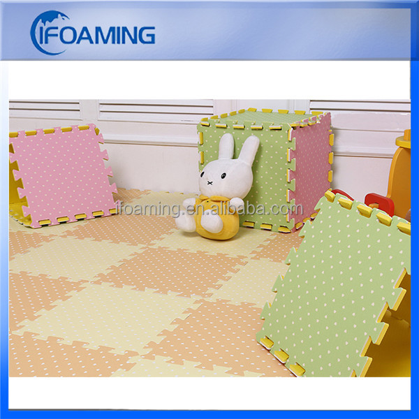 "Promotional 12*12"" EVA Foam Kids Floor Mat for Training"