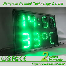 digit numeric display board \ led digit electronic screen \ digit 7 segment banner display