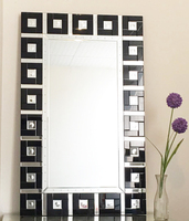 High Quality Wall Mirror Made of MDF Backboard & Silver Mirror/4mm Bevelled Wall Mirror for Home Decoration