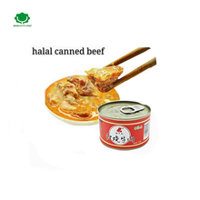 2017 factory manufacturer mutton and beef and fish taste canned beef