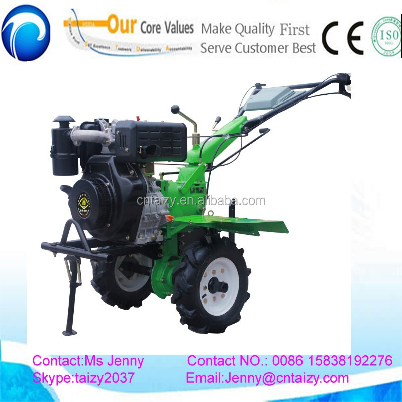 Belt pulley clutch system Chinese Agriculture Gasoline power Micro Tiller Cultivator