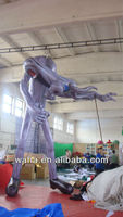 very gaint inflatable monster cartoon