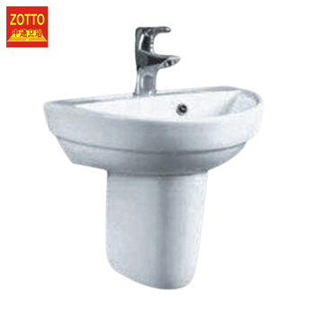 New style single hole oval bathroom sanitary washbasin wall-hung hand wash basin with good quality
