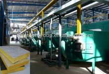Glass wool for insulation board production line