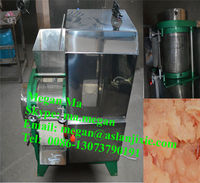 Auto shrimp bone meat separating machine/ shrimp peeling machine