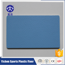 BV verified rubber basketball/badminton/volleyball PVC flooring in roll