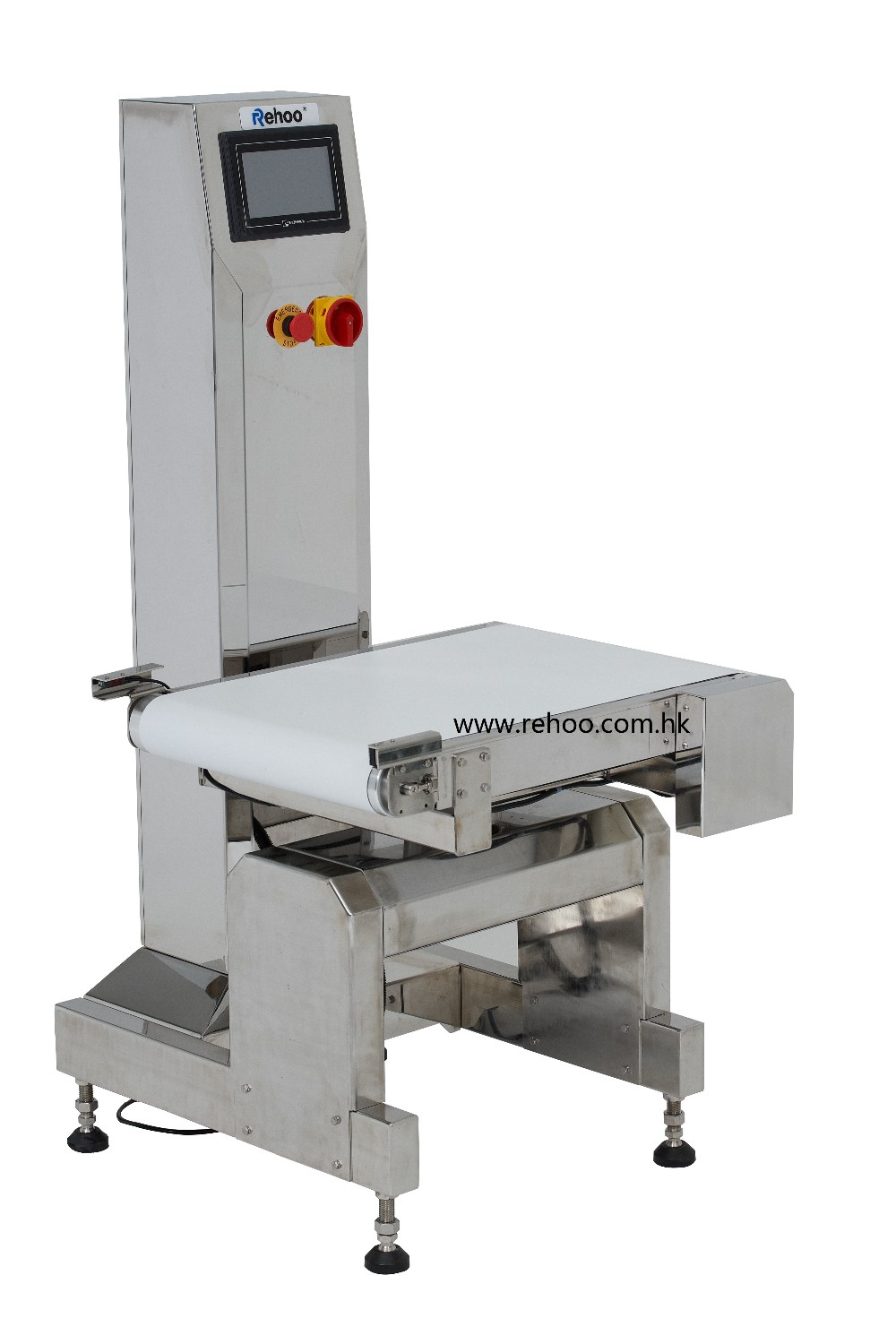 CWC-M450 Rehoo conveyor weighing scale check weighter online weight check machine