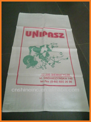 chicken or fish feeding packaging bag