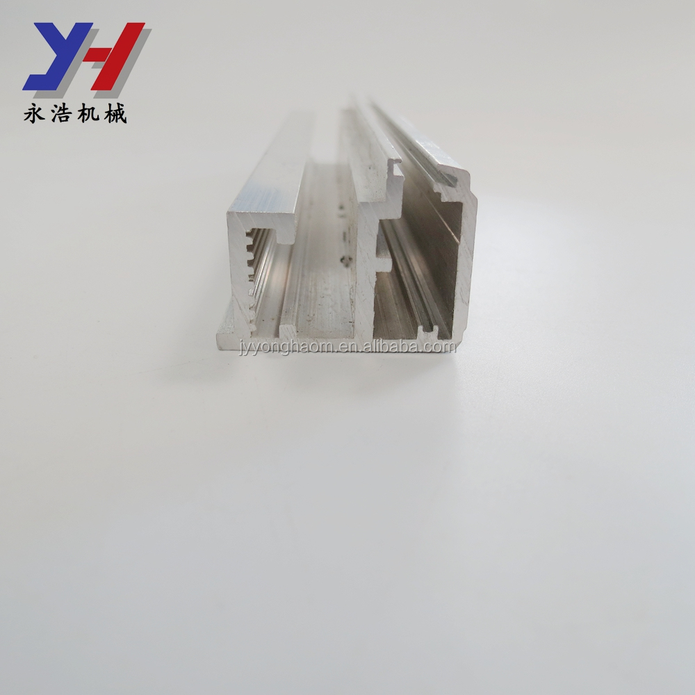 OEM alumiunm profile slots and holes processing material